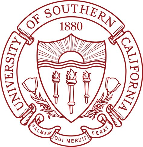 Of Southern California Mba Fees by Of Southern California Logo Seal Traditional