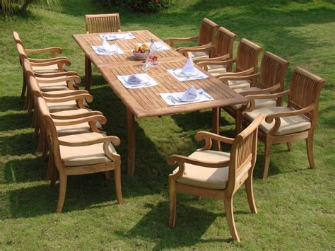 teak wood patio furniture set 13 luxurious grade a teak dining set review teak