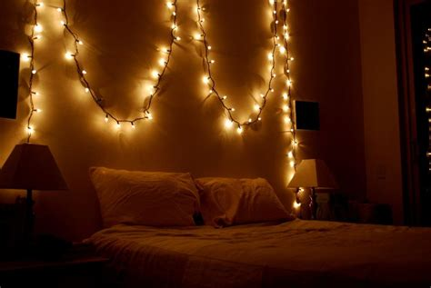 hang christmas lights in bedroom white bedding ideas white