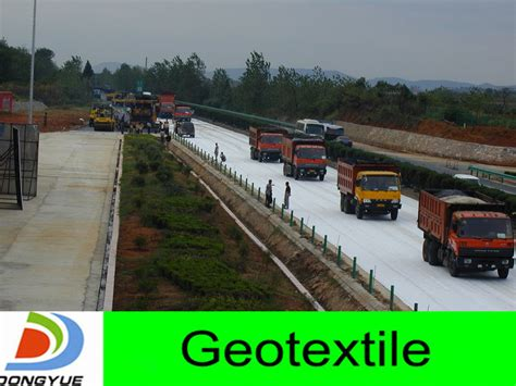 pp nonwoven geotextile fabric for road