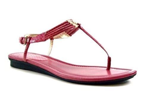 Studio Nine Flat Sandal Shoes nine west apricot womens shoes flat thongs sandals pink 9