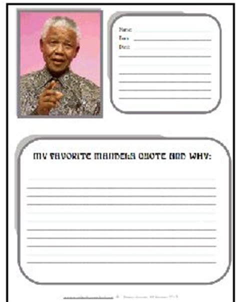 nelson mandela biography lesson plan why was nelson mandela so important in south africa
