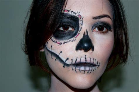 imagenes de calaveras maquillaje maquillaje de d 237 a de muertos youtube
