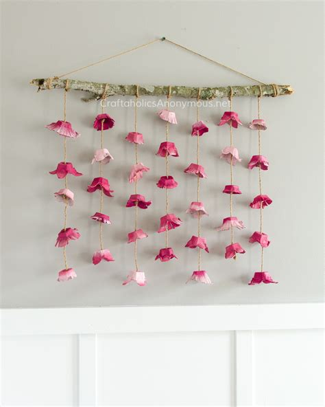 wall hanging craft for craftaholics anonymous 174 boho flower wall hanging made