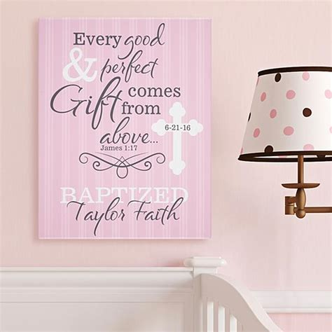 Christening / Baptism Gifts For Baby Girls   Gifts.com