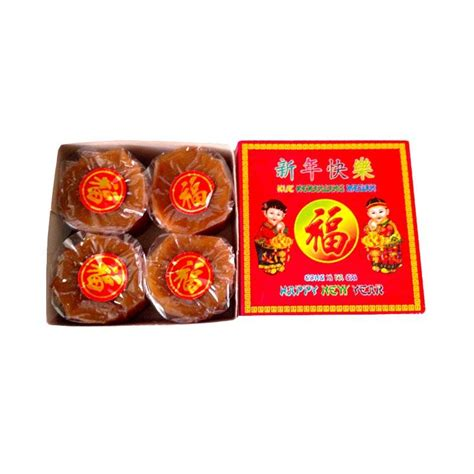 Dodol Cina Kue Keranjang Kue Imlek Nian Gao Isi Dua 500gram jual inuts kue keranjang 4 pcs 250g harga
