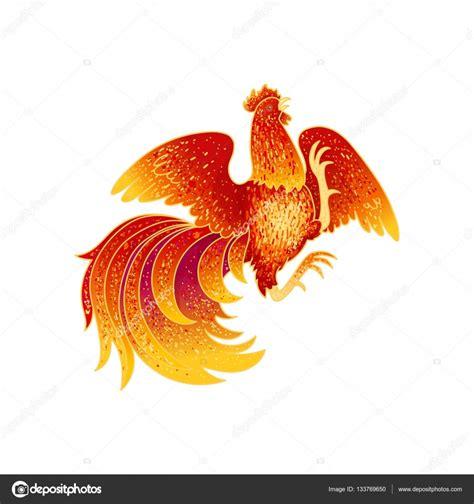 Chinesisches Horoskop Hahn 2017 by Feuer Hahn 2017 Stockvektor 169 Pinana Treeangle 133769650