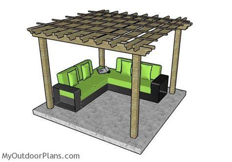 pergola plans myoutdoorplans  woodworking
