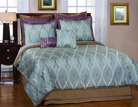 china 7pcs polyester comforter set china comforter