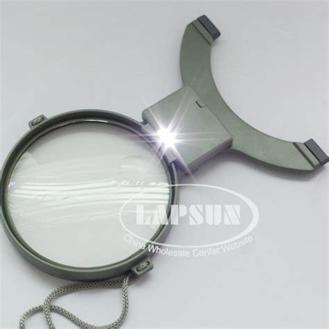 Magnifying Ls For Needlework by 2x 4x Cross Stitch Neck Chest Glass Magnifier Dual