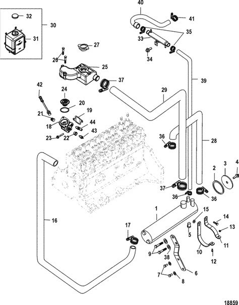 mercruiser 4 3 parts diagram 4 3 mercruiser parts diagram 4 free engine image for