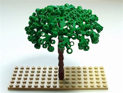 tutorial lego tree 192 best images about lego landscaping trees plants