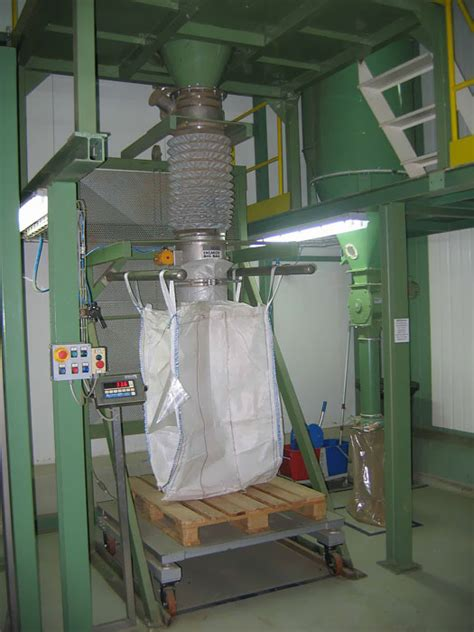 Thiva Handbag industrial big bag filling systems greece europe