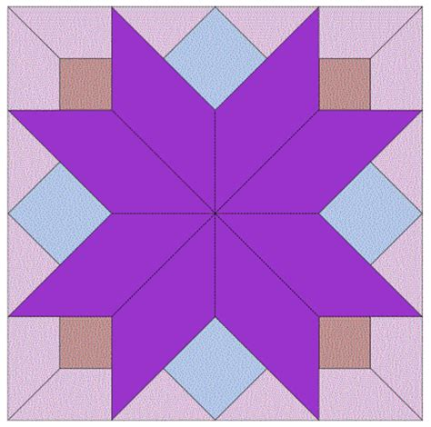 imaginesque quilt block 7 pattern and template
