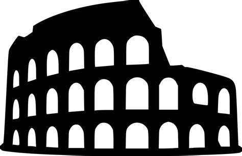 colosseum svg png icon