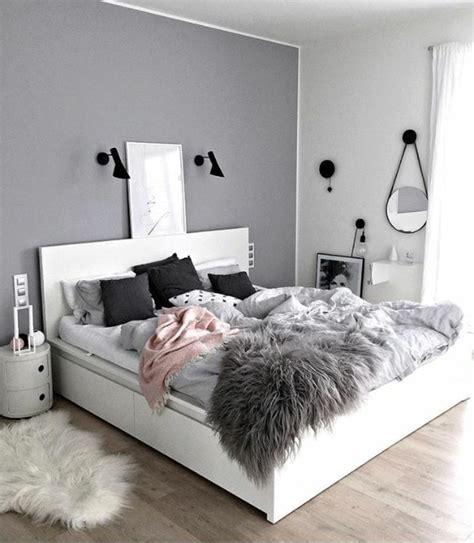 Chambre Gris Et Blanc 1001 versions styl 233 es de chambre blanche et grise