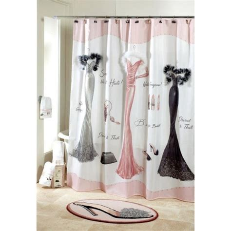 dressed to thrill shower curtain dressed to thrill shower curtain 17494796 overstock