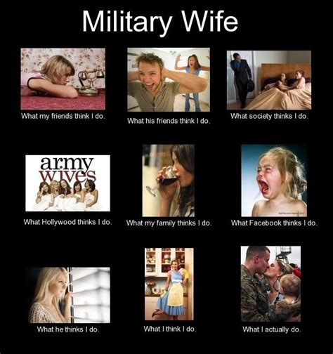 Military Spouse Meme - military wife really such an accurate meme air force life