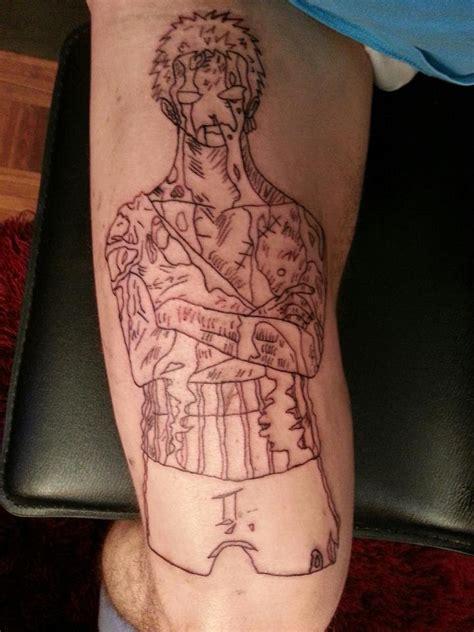 one piece roronoa zoro tattoo body branding una alternativa sado al tatuaje yorokobu