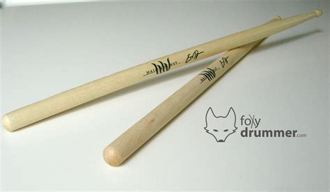 Handmade Drumsticks - clients foxy drummer custom drumsticks