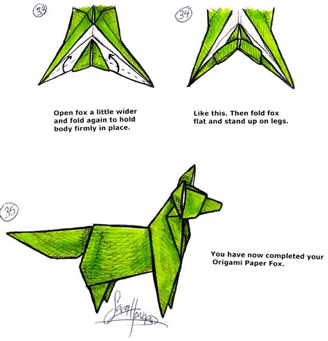 How To Make A Fox Origami - vcl matrices