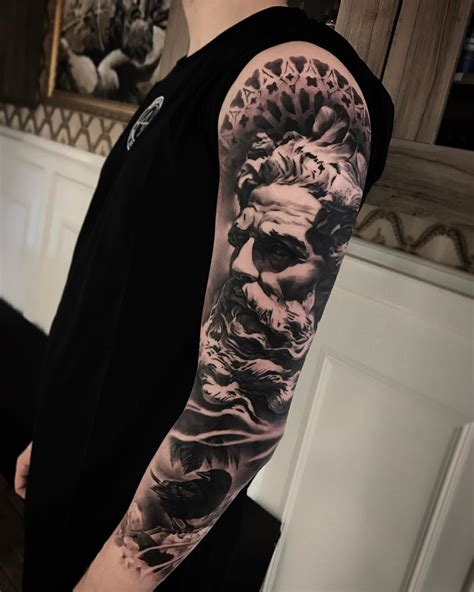 poseidon tattoo poseidon million feed