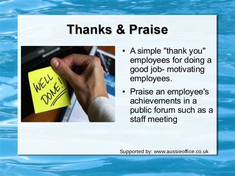 how to motivate employees in a workplace