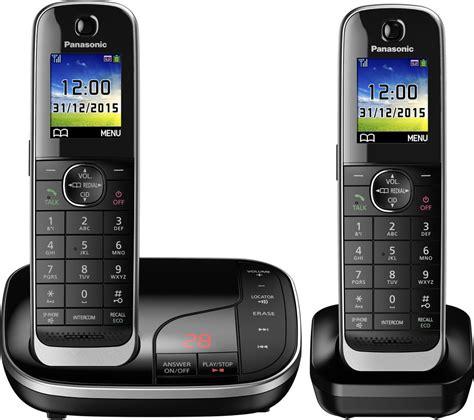 buy panasonic kx tgj322eb cordless phone with answering