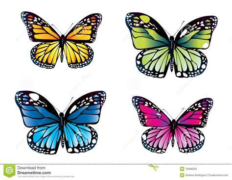 farfalle clipart farfalle variopinte illustrazione di stock immagine di