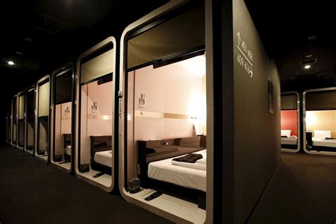 cabin is a luxurious take on japanese capsule hotels