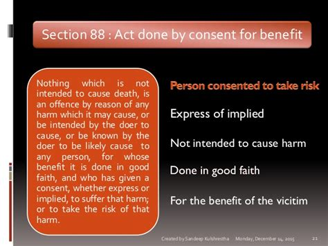 section 21 of indian penal code general exceptions indian penal code s 76 to 106