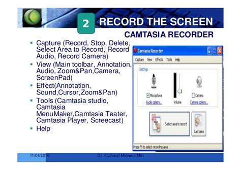 tutorial membuat video tutorial dengan camtasia pembuatan video tutorial dengan camtasia studio