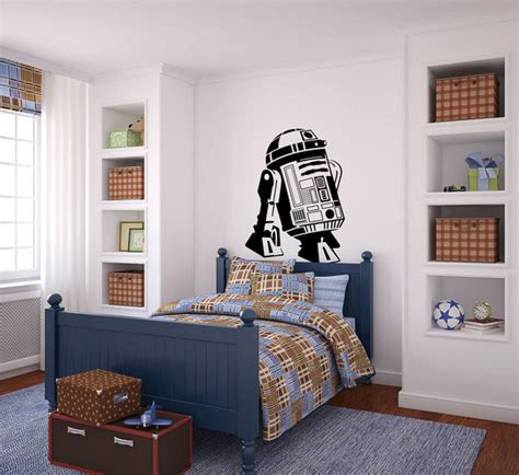 3d poster kinderkamer 3d poster star wars r2d2 droid robot wall art stickers