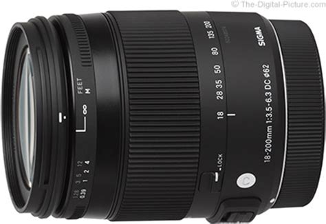 sigma 18 200mm f/3.5 6.3 dc macro os hsm c lens review