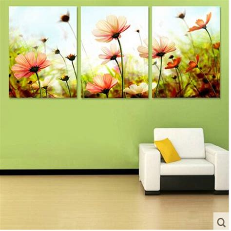 Three Home Decor by Three Picture Combination Painting By Numbers Vintage Home