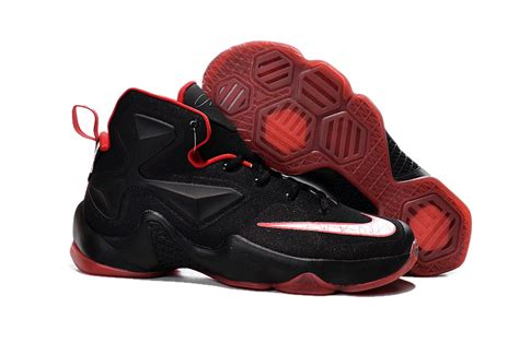 cheap retro basketball shoes nike lebron 13 black basketball shoes for cheap