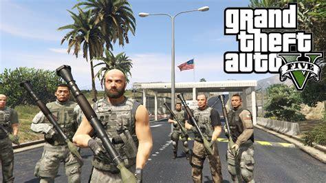 mod gta 5 bodyguard gta 5 pc bodyguard mod rpgs vs military base and more