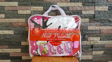 Resleting Jepang Uk 10 Inc selimut new pulento bulu lembut kartun grosir murah