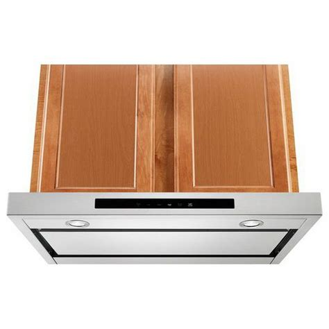 kitchenaid microwave hood fan kvub400gss kitchenaid 30 quot low profile under cabinet