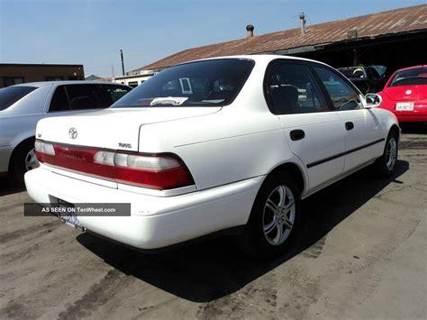 1996 Toyota Corolla 1996 Toyota Corolla Dx Sedan 4 Door 1 8l