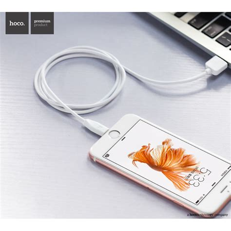 hoco x1 lightning charging cable 1m for iphoneipad white 1 hoco x1 lightning charging cable 1m for iphone