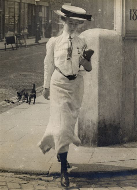 Artety Dress No Belt return of the edwardian sartorialist sambourne s