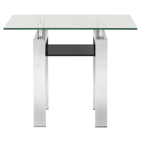 square glass end table city furniture caleb glass square end table