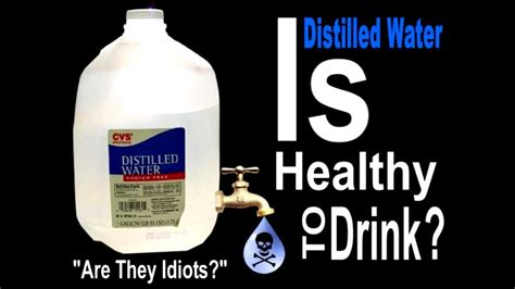 Why Not Detox With Distilled Water by Is Distilled Water Healthy Safe Or Beneficial To Drink