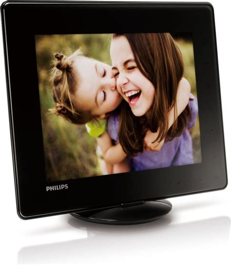 philips spf4608 cornice digitale 8 philips cornice digitale portafoto 8 led touch screen