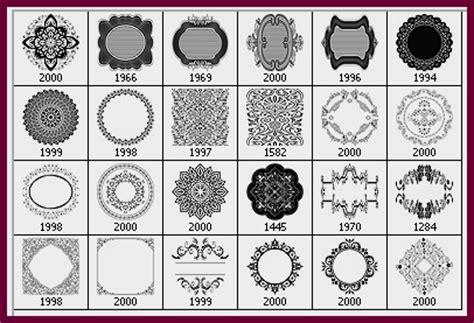 vintage pattern photoshop brushes 25 vintage lace photoshop brushes photoshop free brushes