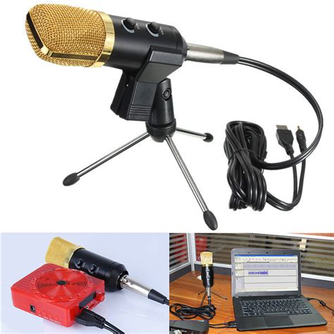 Stand Microphone Vocal audio dynamic usb condenser sound recording vocal
