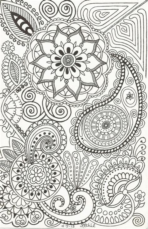 doodles coloring relaxing book take it and color wherever you go books 40 beautiful doodle ideas bored
