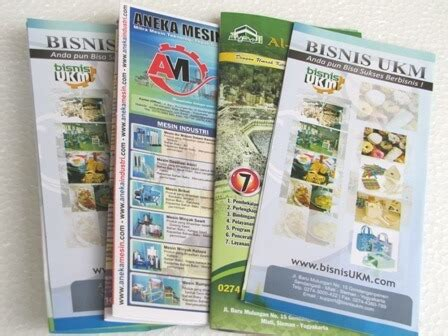 jasa membuat brosur pemasaran produk melalui brosur