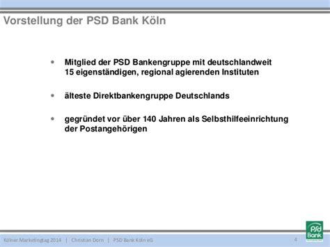 psd bank köln tagesgeld kmt2014 regionale bank mit internationalem testimonial